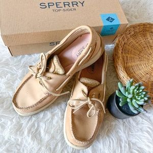 Women's Sperry Top Sider Leather Boat Shoe Size 7